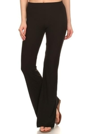 Peppermint Solid Flare Pants - Product Mini Image