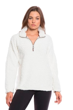 Shoptiques Product: Solid Frosty Pullover