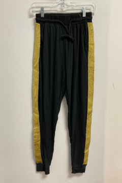 Love It Solid Jogger with Gold side stripe - Product List Image