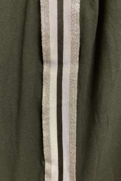 Love It Solid Jogger with Silver/White Side stripe - Alternate List Image