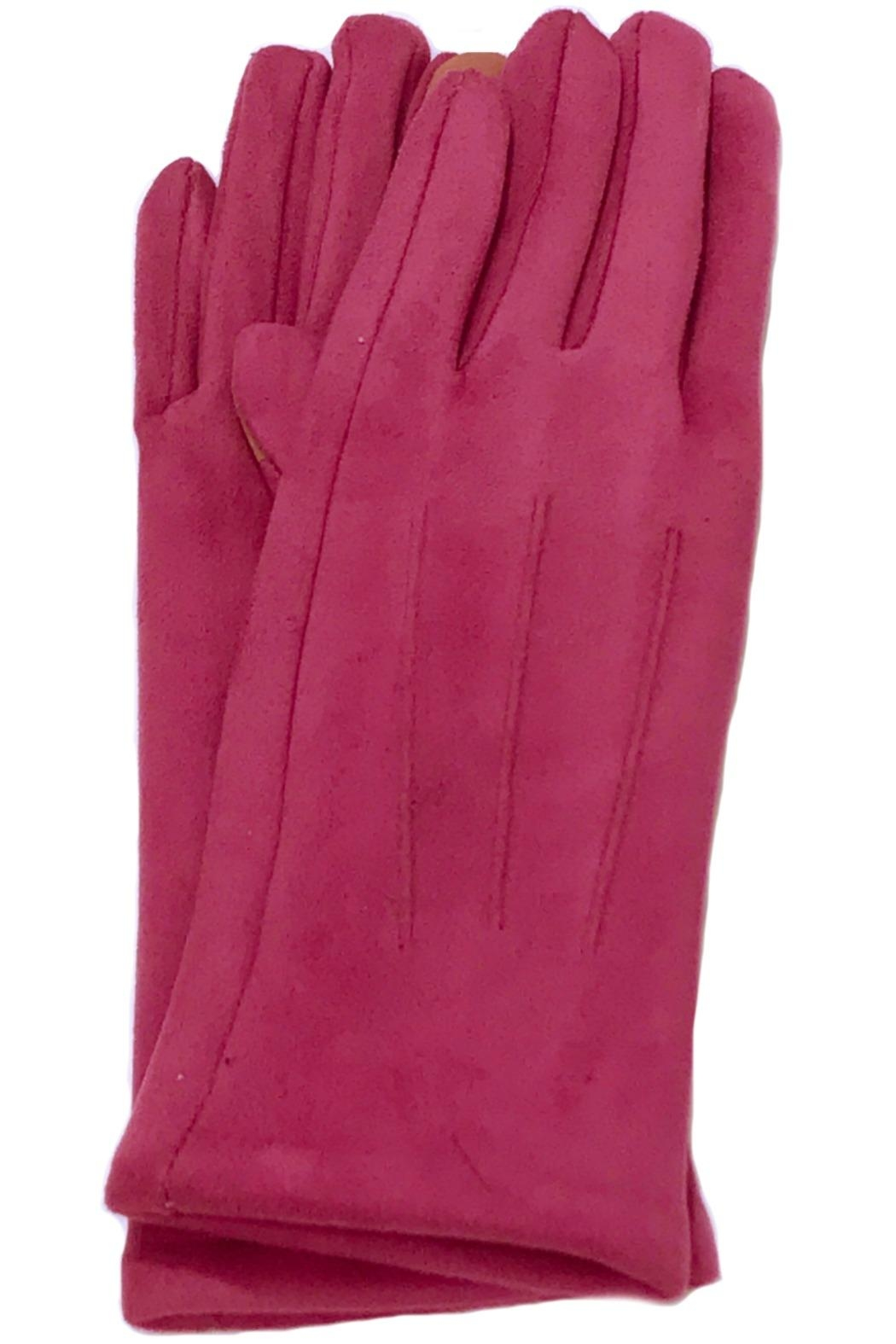 ANTONELLO SERIO Solid Knit Gloves - Main Image