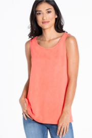 Multiples Solid Knit Tank - Product Mini Image