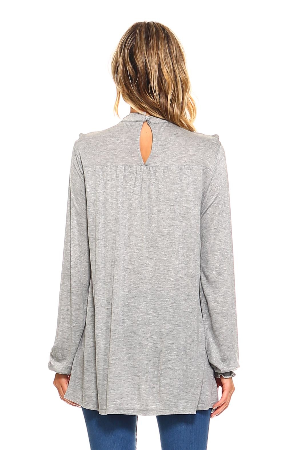 rxb Solid Knit Top - Side Cropped Image
