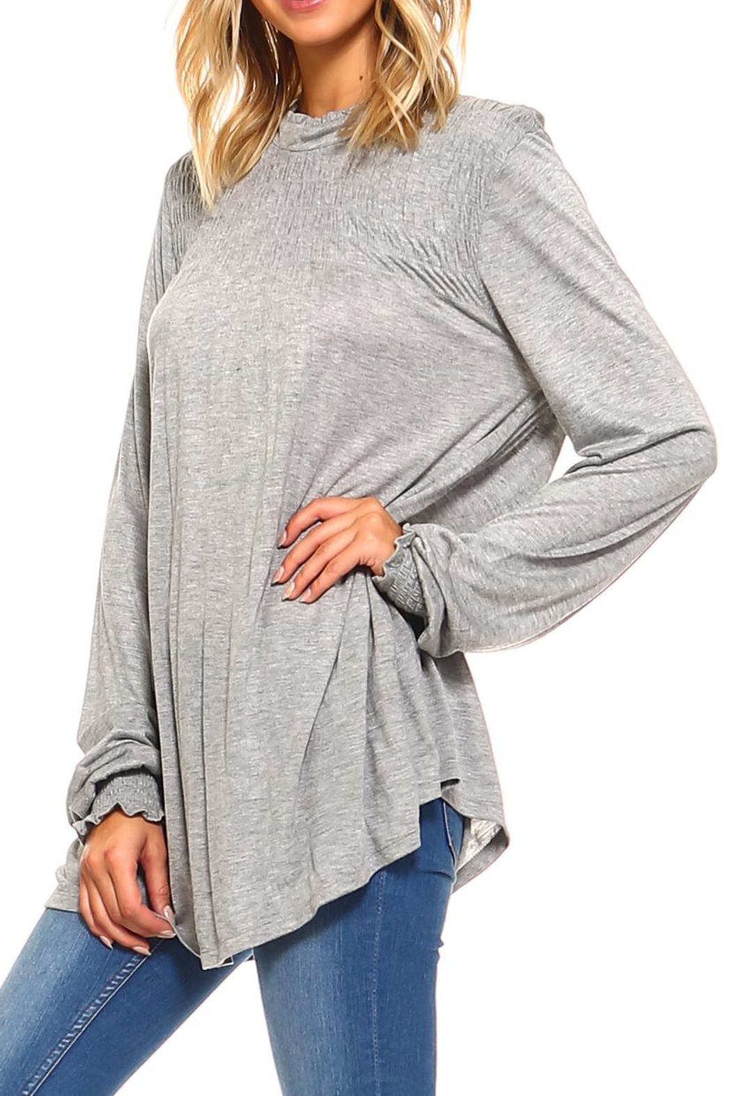 rxb Solid Knit Top - Front Cropped Image