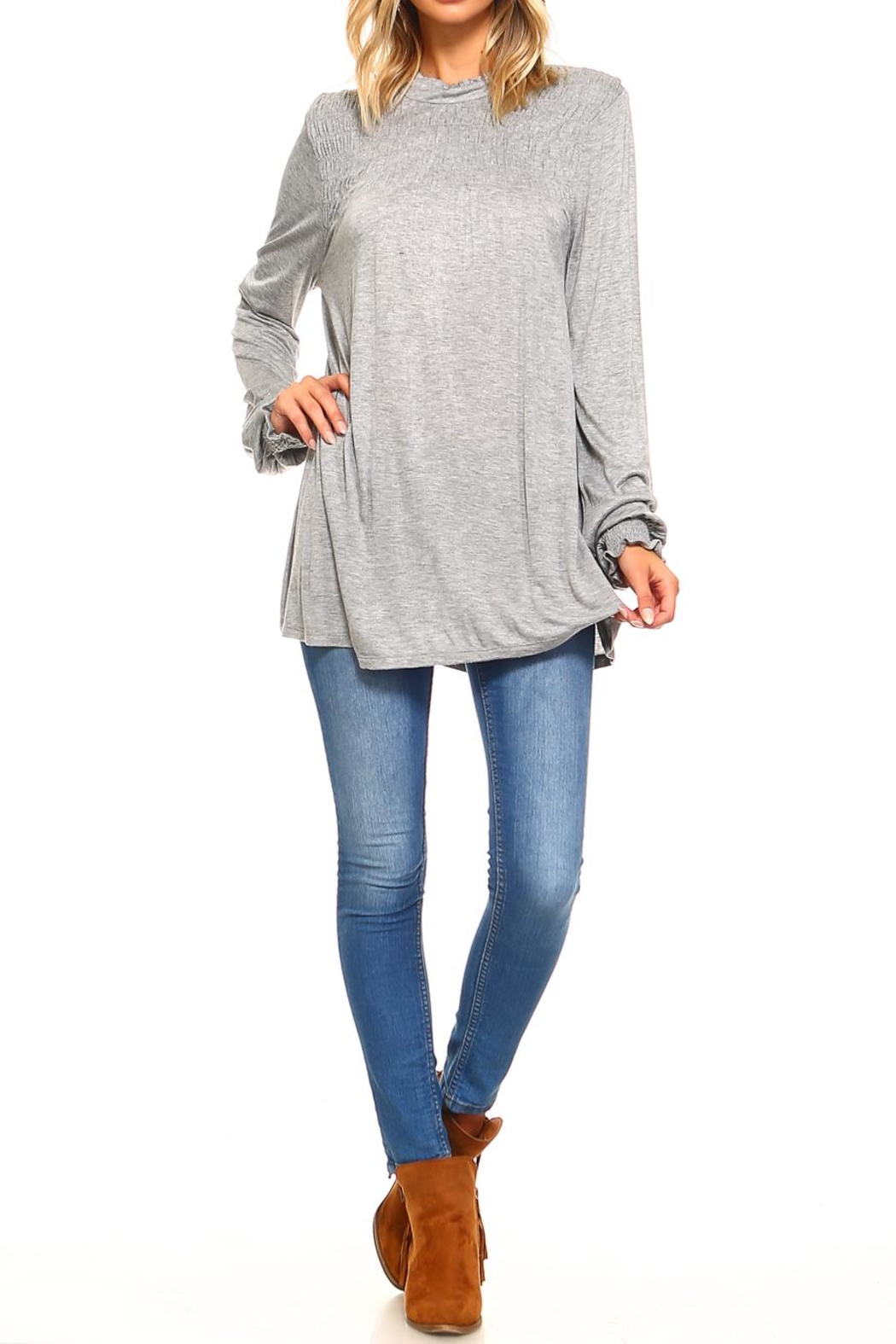 rxb Solid Knit Top - Front Full Image