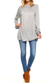 rxb Solid Knit Top - Front full body