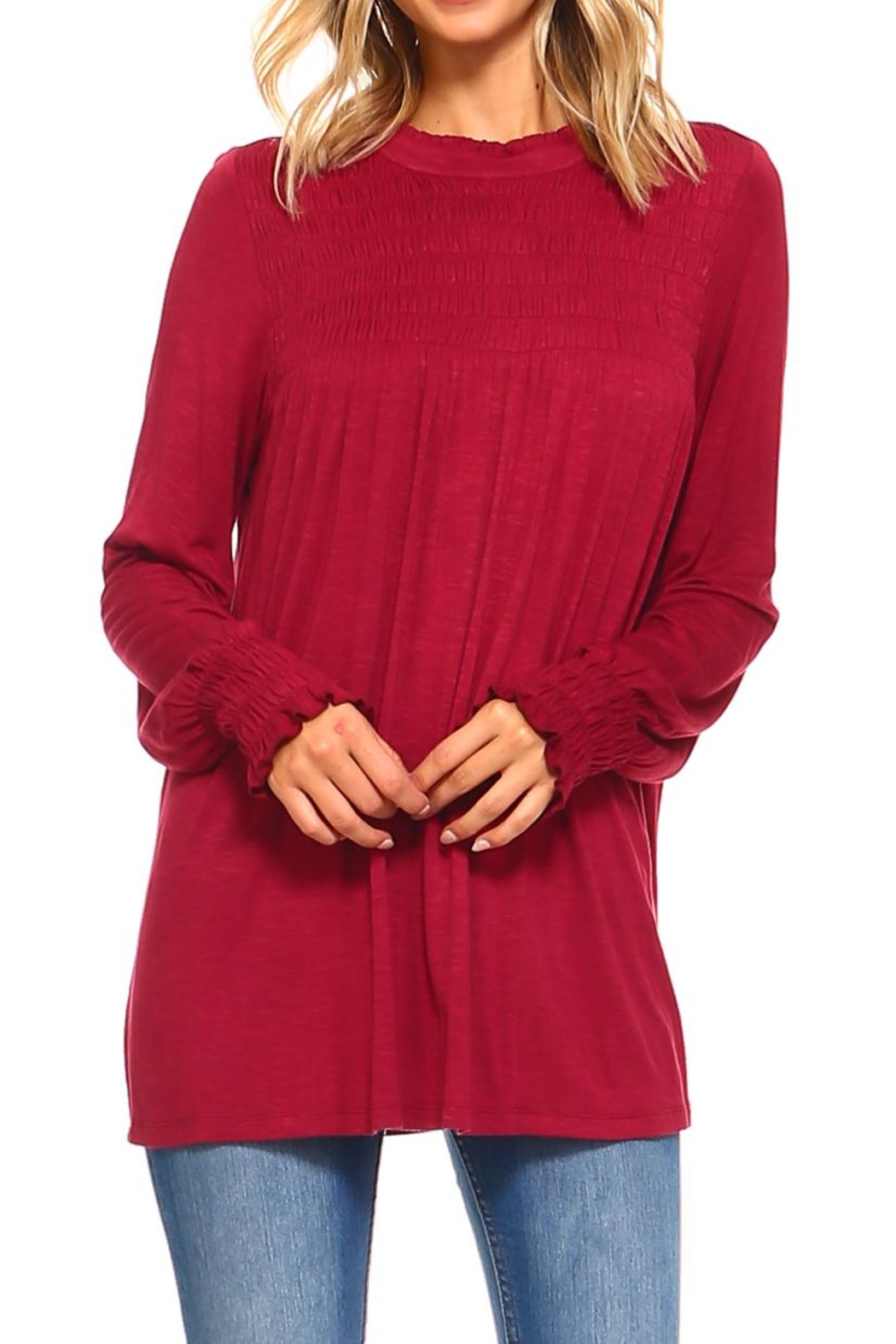 rxb Solid Knit Top - Main Image