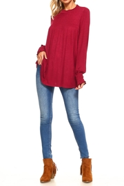 rxb Solid Knit Top - Side cropped