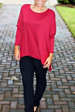 Glam Solid Knit Tunic - Product List Image