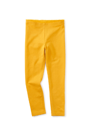 Tea Collection  Solid Leggings - Gold - Product Mini Image