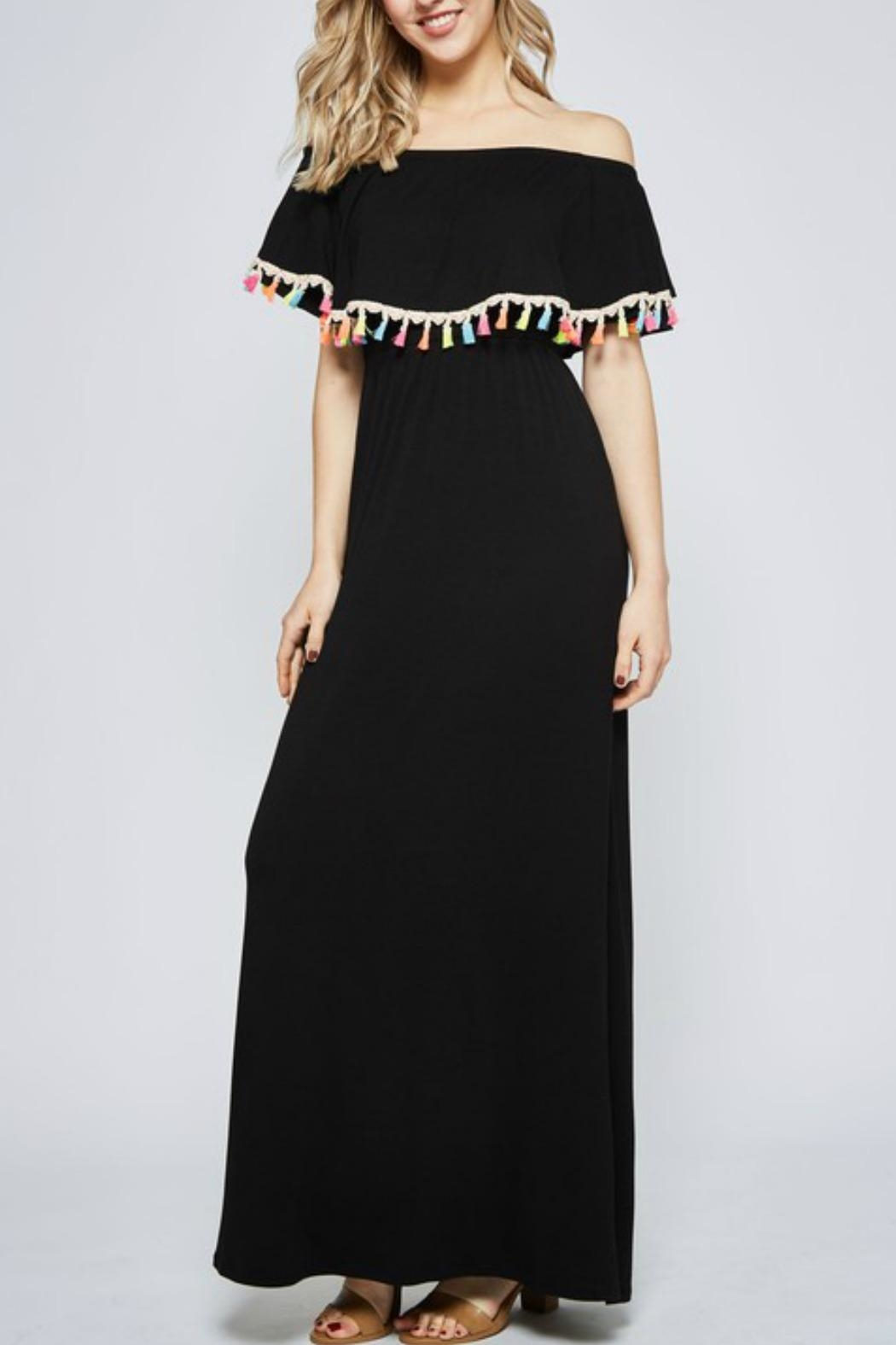Beeson River Solid Maxi Dress - Main Image