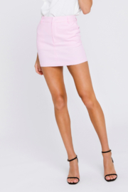 Grey Lab Solid Mini Skirt - Side cropped
