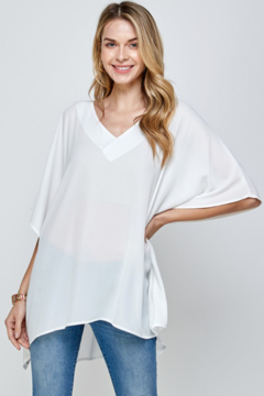 Caramela Solid Oversized Top - Product List Image