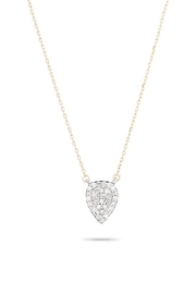 Adina Reyter Solid-Pave Teardrop Necklace - Product Mini Image