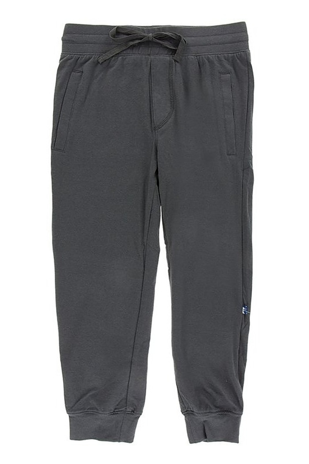 Kickee Pants Solid Performance Jersey Tapered Pants - Front Cropped Image