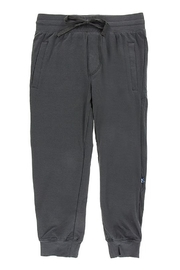 Kickee Pants Solid Performance Jersey Tapered Pants - Front cropped