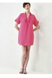 Charlie Paige Solid Pink Tunic - Product Mini Image