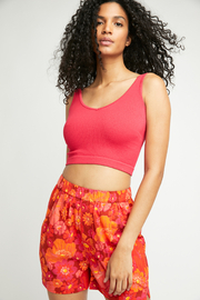 Free People Solid Rib Brami - Front cropped