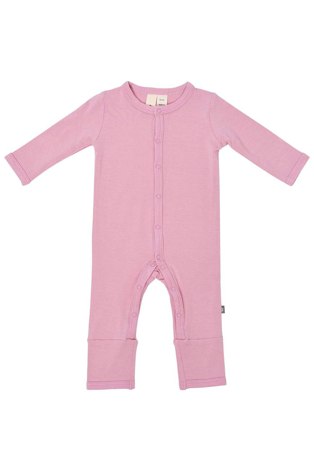 Kyte Baby Solid Romper - Front Cropped Image