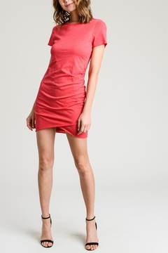 Shoptiques Product: Solid Ruched Dress