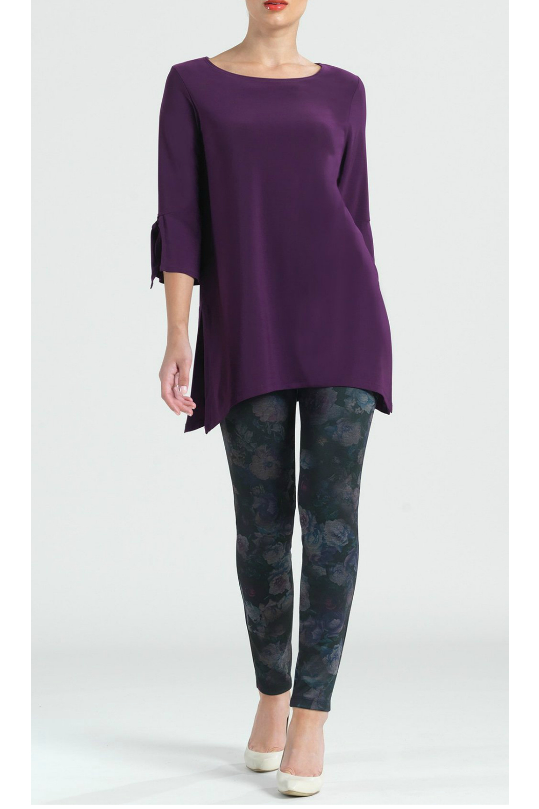 Clara Sunwoo Solid soft knit tunic - Main Image