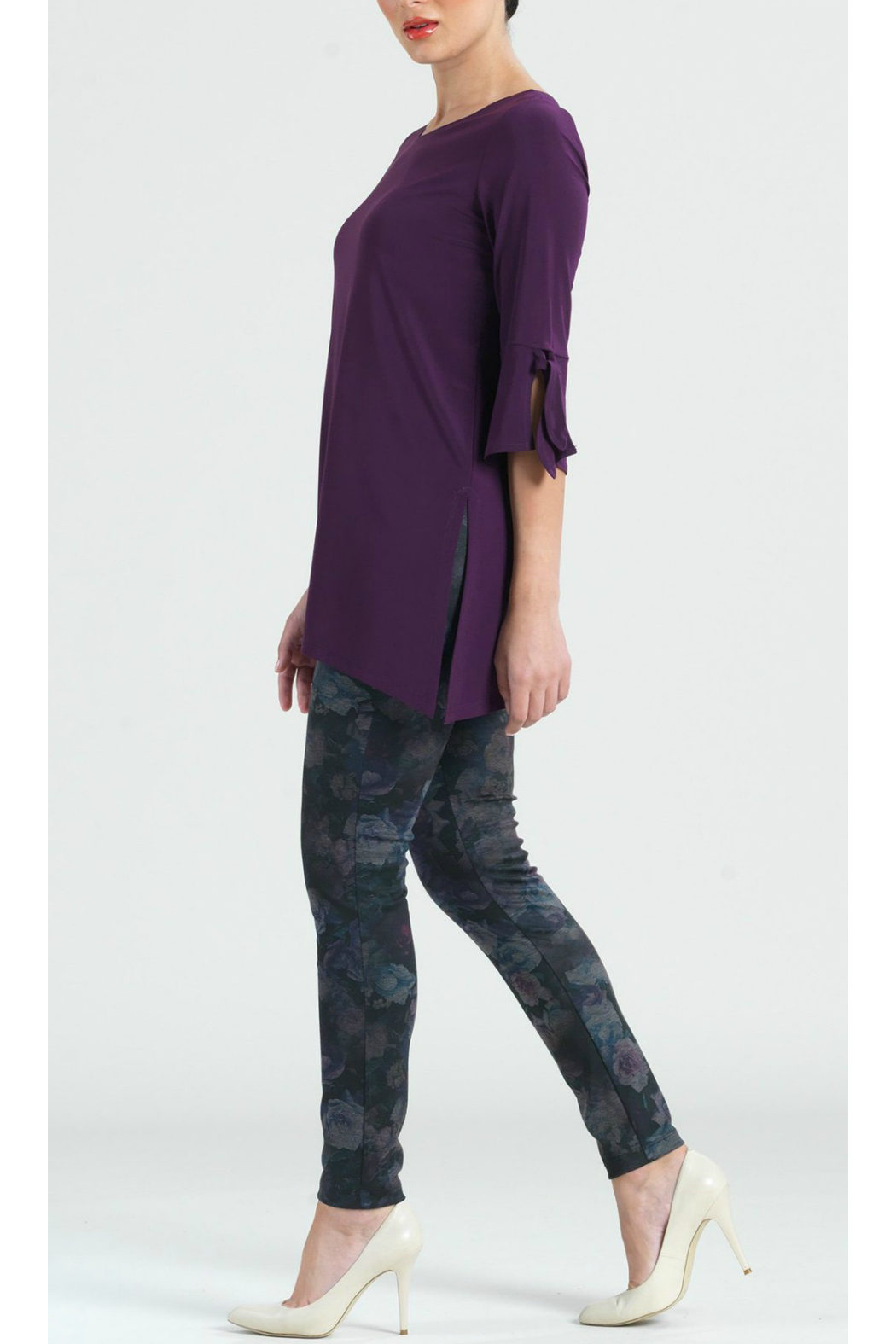 Clara Sunwoo Solid soft knit tunic - Front Full Image