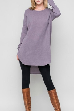 Bellamie Solid Sweater Tunic - Alternate List Image