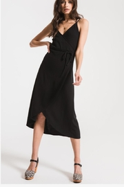 Zsupply Solid Wrap Dress - Product Mini Image