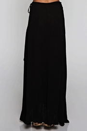 Ambiance Solid Wrap Skirt - Front full body