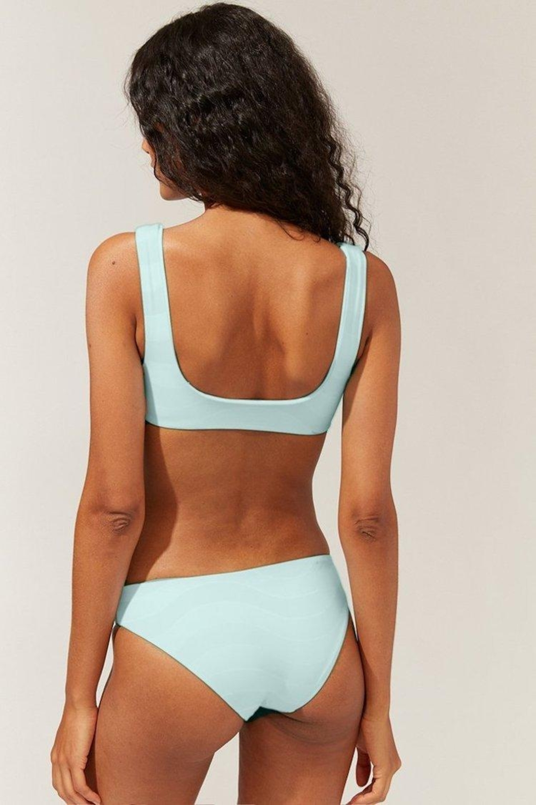 Solid & Striped The Elle Reversible Bottom Wavy Stripe - Side Cropped Image