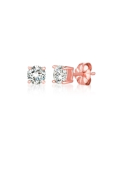 Crislu Solitaire Brilliant Earrings - Product Mini Image