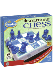 Think Fun Solitaire Chess Mind-Capturing Logic Game - Product Mini Image