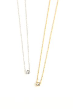 Lovers Tempo Solitare Necklace - Product List Image