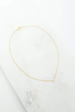 Lovers Tempo Solitare Necklace - Alternate List Image
