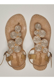 Laidback London Soll Beaded Sandal - Front cropped