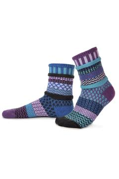 Solmate Socks Mismatched Socks Raspberry - Alternate List Image