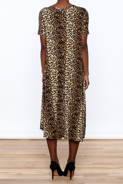 Solo La Fe  Cheetah High Low Dress - Alternate List Image