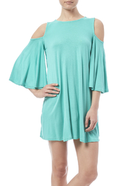 Solo La Fe  Spearmint Dress - Product Mini Image