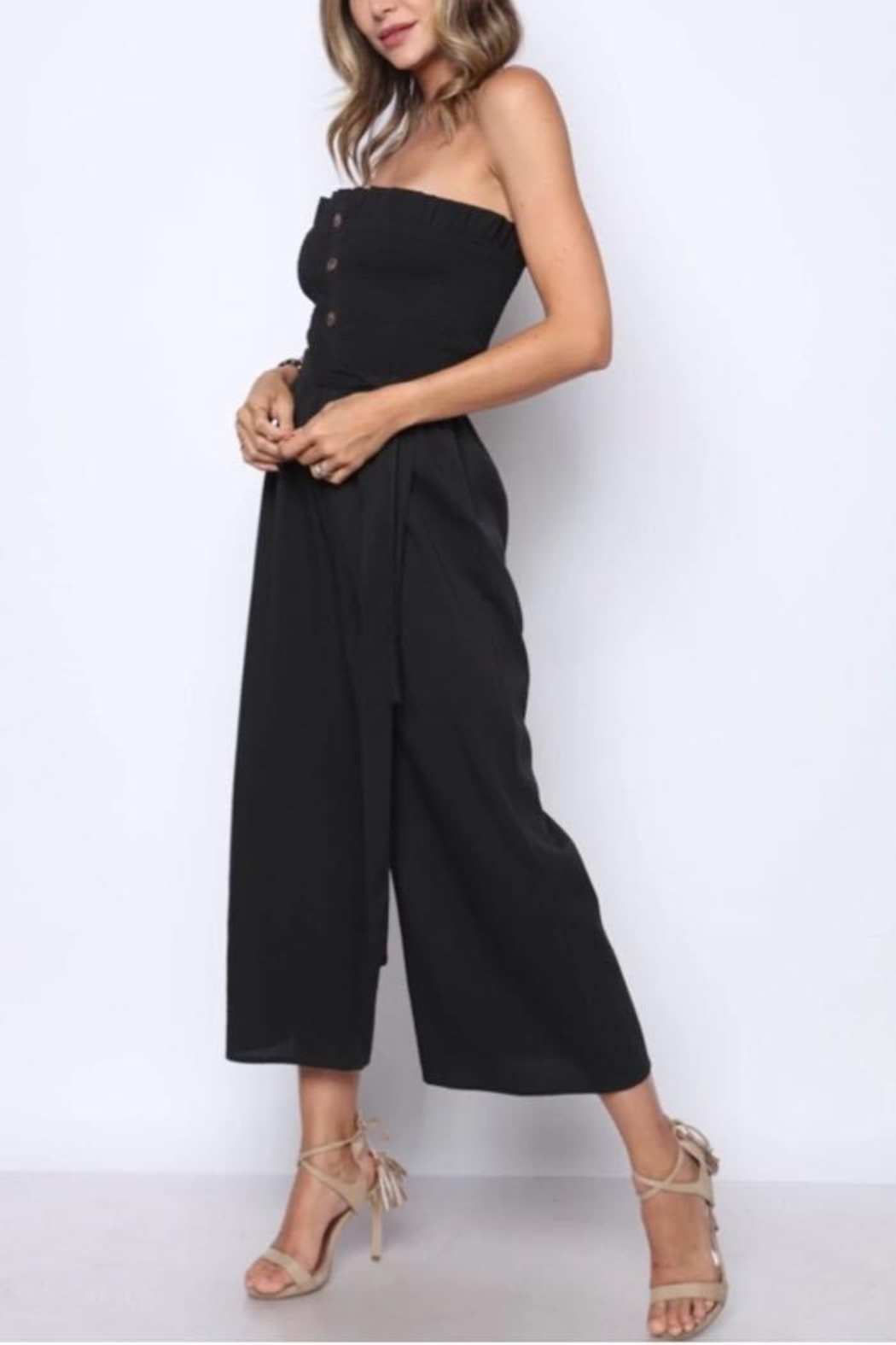 Solo Fashion New York Staples Jumpsuit - Front Full Image