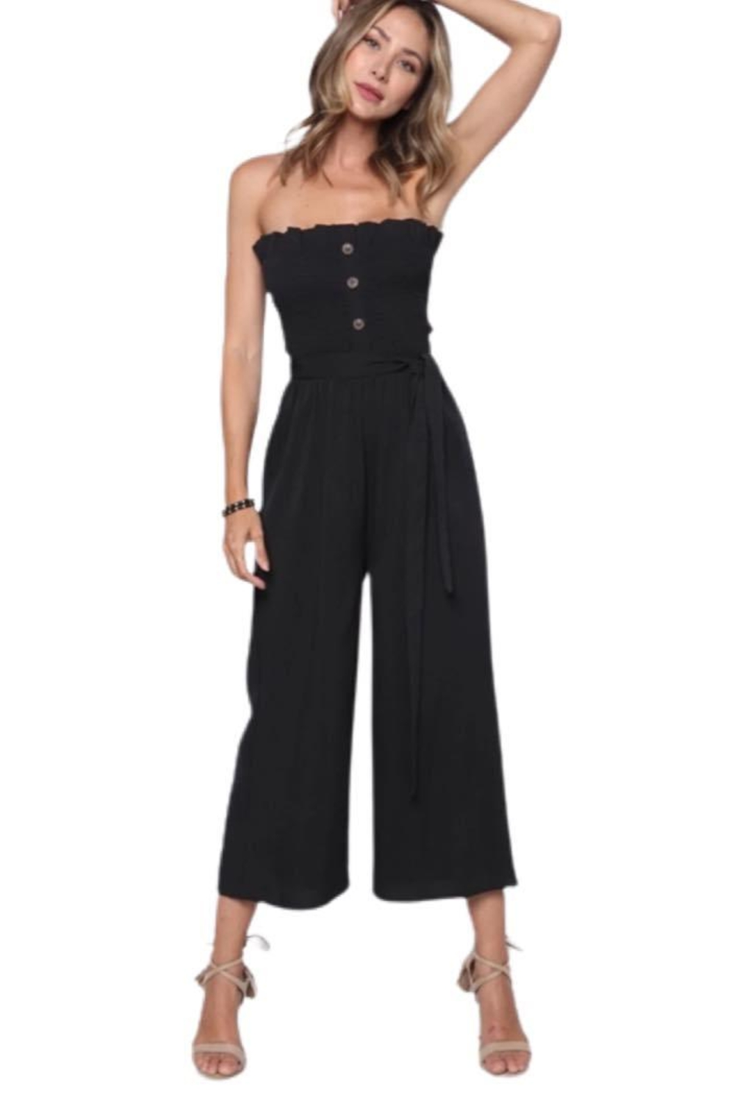 Solo Fashion New York Staples Jumpsuit - Front Cropped Image
