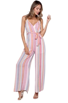 Solo Fashion New York Pink Jumpsuit - Product List Image