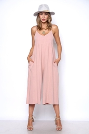 Solo Fashion New York Pink Jumpsuit - Front cropped