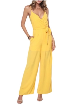 Solo Fashion New York Yellow Jumpsuit - Product List Image