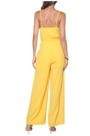 Solo Fashion New York Yellow Jumpsuit - Front full body