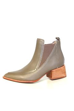 Shoptiques Product: Leather Ankle Bootie