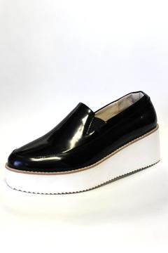 Shoptiques Product: Patent Leather Wedge