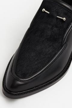 Shoptiques Product: Pierced Leather Loafer