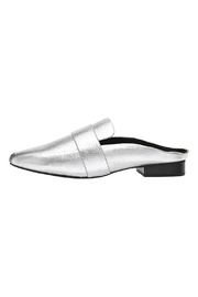 SOLSANA Renold Leather Mule Shoes - Product Mini Image
