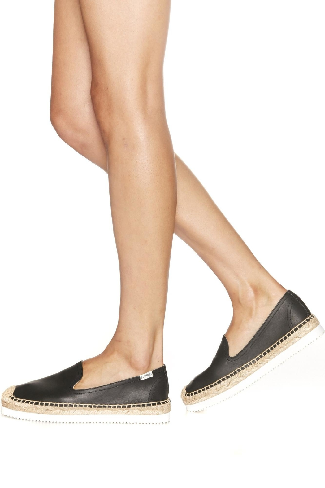Soludos Mix-Sole Smoking Slipper - Front Full Image