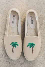 Soludos Palm Tree Platforms - Front full body